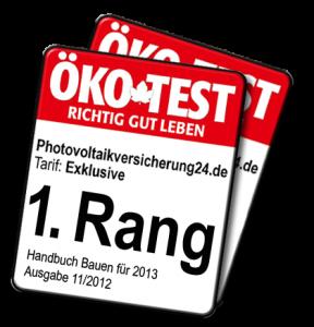 Photovoltaikversicherung 24 oekotest11-2013