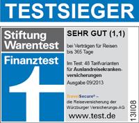 Travelsecure Würzburger Langzeit Reisekrankenversicherung