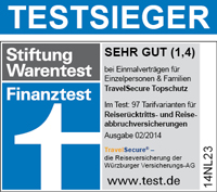 Travelsecure Würzburger Rücktrittsversicherung & Abbruchversicherung