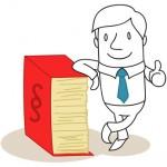 Geschäftsmann, Anwalt, Gesetzbuch